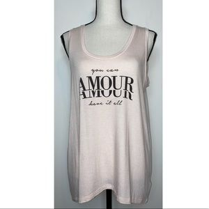 Express one eleven you can have it all amour tank